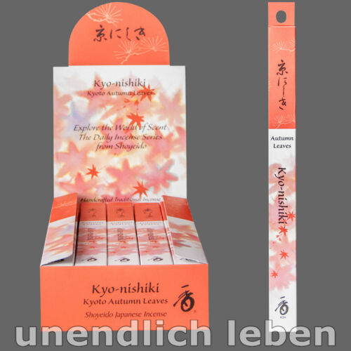 Japan Stäbchen japanische Räucherstäbchen süß /& weich KYONISHIKI 20g=1 Rolle