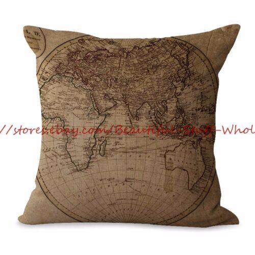 Us Seller 10pcs Decorative Throw Pillow Covers Cushion Covers Ocean Nautical Home Décor Pillows Home Décor