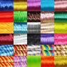 16 Metros Hilo Cola de Ratón 2mm A149 Colores a Escoger Abalorios Satin Cord