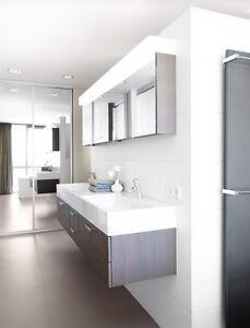 White Matt Wall Tiles 600x300 Premium Tile Ebay