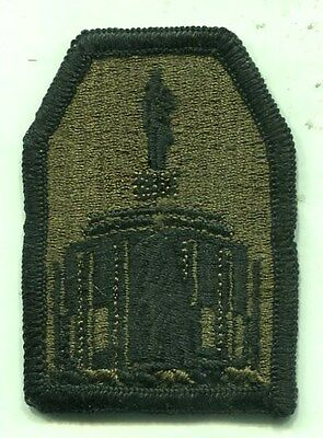 US Army Oregon Army National Guard OD Subdued Patch