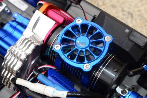 9PC SET-Red TRAXXAS E-Revo 2.0-ALUMINUM MOTOR HEATSINK WITH COOLING FAN