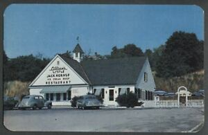 Newburgh-NY-c-1950-Postcard-LILLIAN-039-S-LITTLE-JACK-HORNER-RESTAURANT-ICE-CREAM