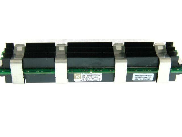 Mac Pro 1GB Kingston PC2-5300 667MHz DDR2 ECC FBDIMM RAM - KTA-MP667AK2/2G - SR4