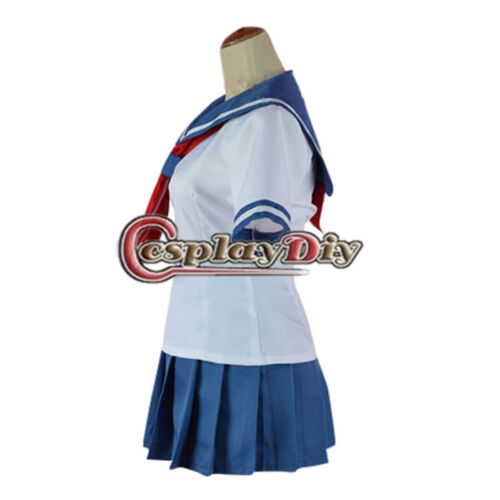 Yandere Simulator Ayano Aishi Yandere-Chan Sailor Skirt Uniform Cosplay Costume