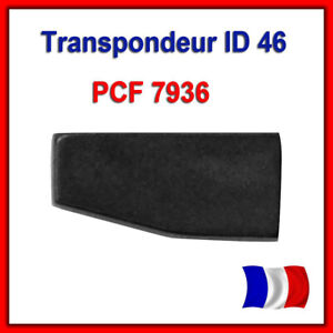 Transpondeur-Vierge-Id46-Peugeot-Citroen-PCF7936-PCF7936AS-Puce-ID46