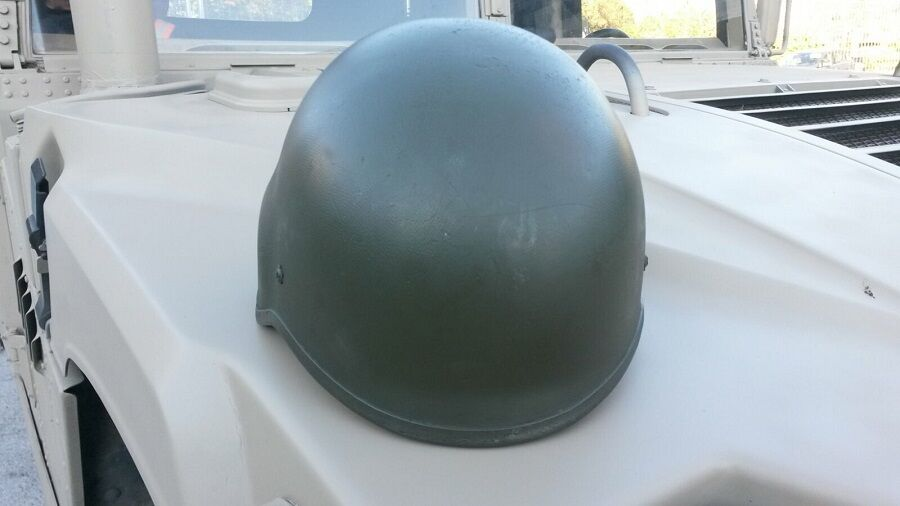 Army NATO Military Battle Aramid Helm Battle Military Helmet Gefechtshelm oliv Gr. M / Medium 58d2dd