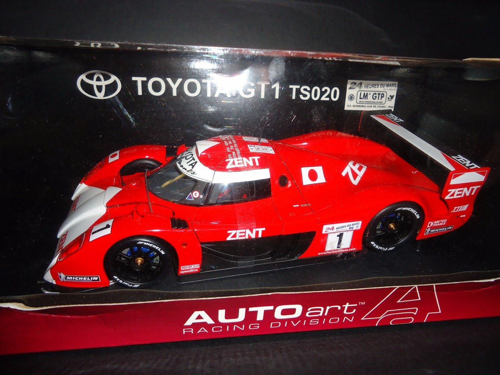 Autoart Toyota GT-1 Le Mans TS020  18 RARE
