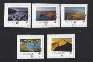 Kanada-2020-Scenery-034-Von-Naher-Und-Breit-CM-Selbstklebend-Set-5-Fein-Gebraucht