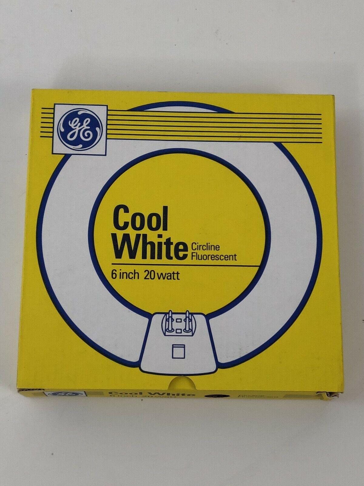 Cool White New GE LIGHTING 42732 T9 Circular Bulb 20W