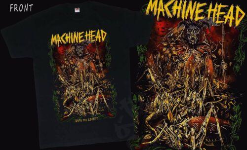 MACHINE HEAD American heavy metal band T/_shirt-SIZES:S to 6XL Unto the Locust