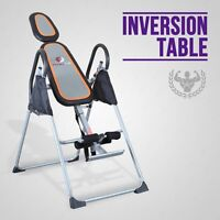 Premium Inversion Table Foldable Back/Neck Relief Reflexology Therapy Fitness