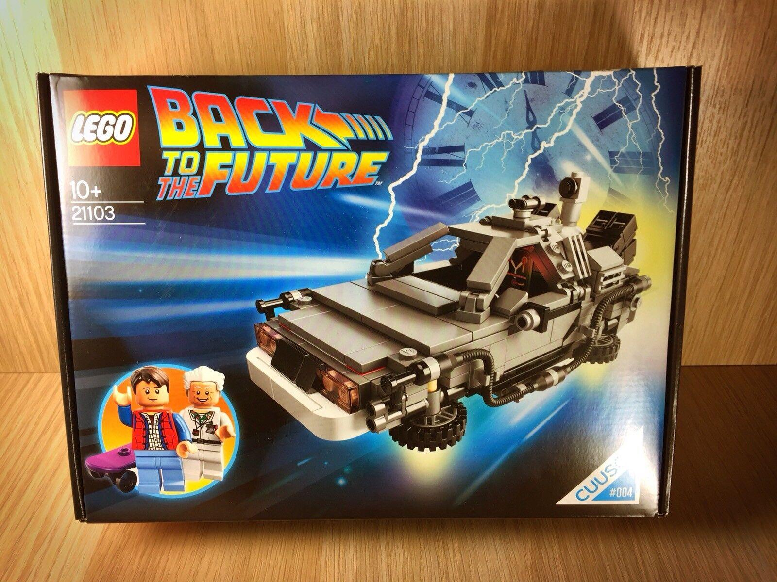 Lego Back to the Future   Delorean Delorean Delorean 21103    NEU  412aa0