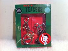 New IQ Test Toys Mind Game Brain Teaser Metal Wire Puzzles Magic Trick