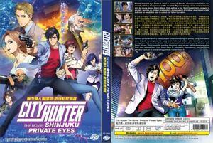 City Hunter Movie Shinjuku Private Eyes English Subs 1 Dvd Vs0840 Ebay
