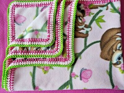 Mommy and Me Crochet Baby Blanket