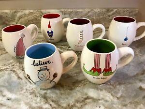 eeb89cfafb9 Large Coffee Mug By Magenta Rae Dunn Artisan Collection Christmas ...
