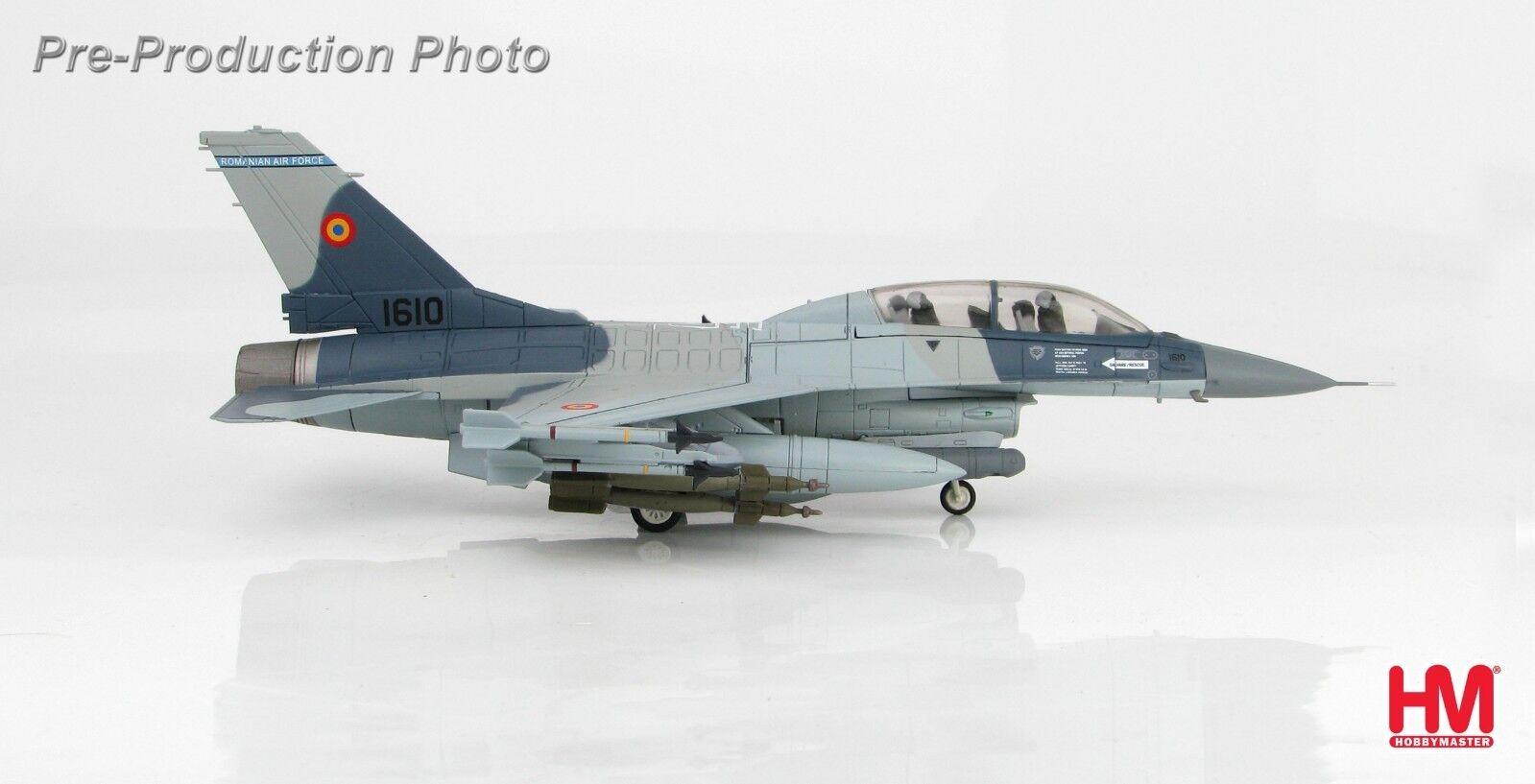 precios mas bajos Hobby Master Master Master HA3860, Lockheed Martin F-16BM 1609, 1 72, 2017 de la fuerza aérea rumana  muchas sorpresas