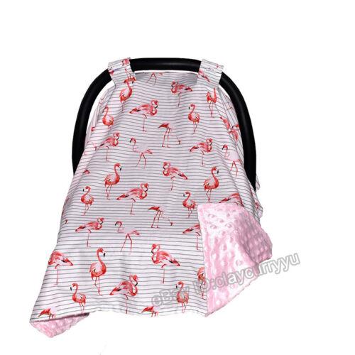 Baby Toddler Soft Car Seat Cradle Bassine Blanket Cover Buggy Stroller Sun Shade