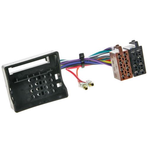 1196-02 radio cable de conexión adaptador autoradio cable para mercedes vito w639