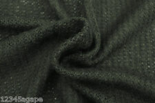 B73 wool-viscose-acrylic Blend nero catena maglia Luce Plus peso MADE IN ITALY