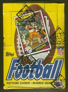 1984 Topps Football Unopened Wax Box-Possible Elway & Marino RC-BBCE Authentic