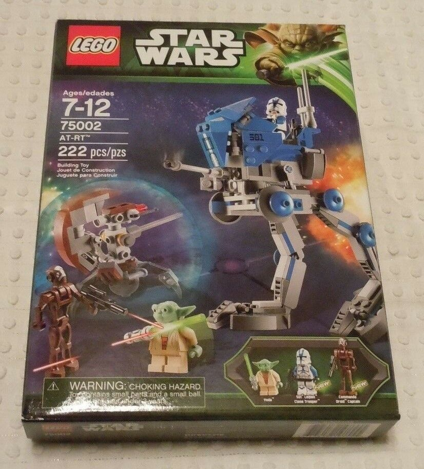 LEGO STAR WARS AT-RT Set 75002 New Sealed Destroyer Droid Commando Minifigs