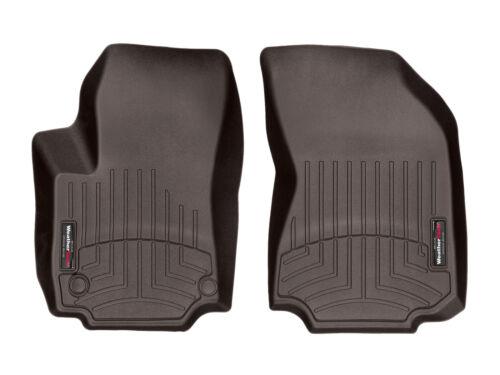 WeatherTech FloorLiner Floor Mats for GMC Terrain 2018-2019 1st Row Cocoa
