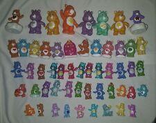 "HUGE LOT of 53 Care Bears FIGURES Toys 2"" MINI 6"" PVC Glitter GLOW Modern"