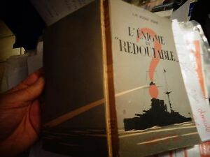 Efficace Science Fiction Marine L'enigme Du Redoutable J.h Rosny Jeune 1948 Scaphandrier