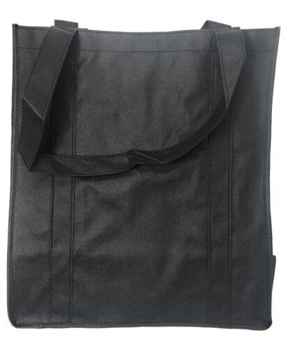 "1 Dozen Grocery Shopping Totes Bags Hook /& Loop Closure 14x16/"" Wholesale Bulk"