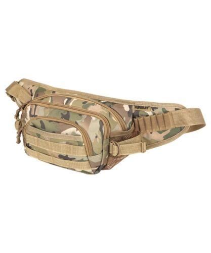 TACTICAL SUMMIT WAIST BAG 3ltr BUM BAG BELT MENS ZIPPED ARMY HOLDAY TRAVEL MTP