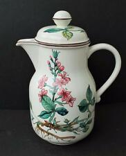 "Vintage VILLEROY & BOCH Germany BOTANICA FLORAL9 1/2""h Coffee Pot w Lid"