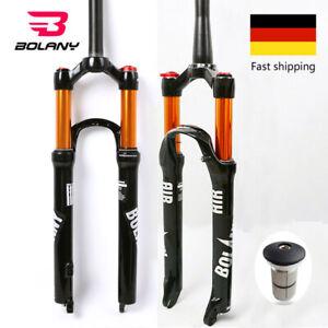 BOLANY-26-27-5-29-034-MTB-Federgabel-Gabel-Fahrrad-Konische-Gerade-Luftfeder-Gabel