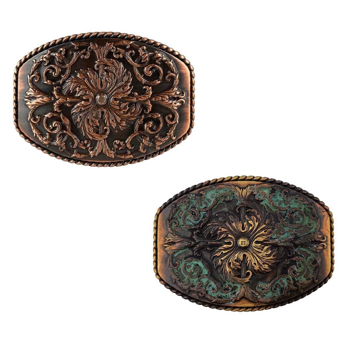 Western Celtic Buckle Cowboy Cowgirl Engraved Belt Buckle fits 1-1/2