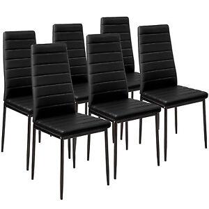 6x-Chaise-de-salle-a-manger-ensemble-salon-design-chaises-cuisine-noir