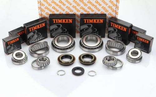 M32 GEARBOX BEARING REBUILD REPAIR KIT TIMKEN 8 BEARINGS 4 SEALS 25mm INPUT