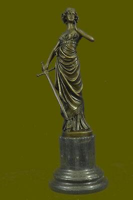 Metallobjekte Hospitable Griechisch Bronze Marmor Kunst Göttin Wisdom Athena God Of War Statue Skulptur Antike Originale Vor 1945