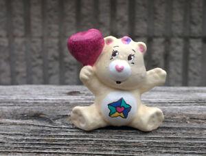 CUSTOM-Vintage-Kenner-Care-Bear-PVC-Mini-Figure-2-034-MOVIE-VERSION-TRUE-HEART