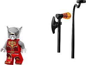LEGO-Legends-of-Chima-Worriz-Fire-Chi-Minifigure-With-weapon-Sale