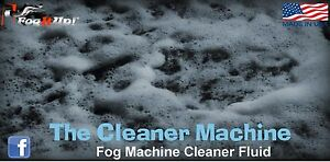 Unclog That Fog Fog It Up Quart Of Cleaner Machine Fog Machine Cleaning Fluid