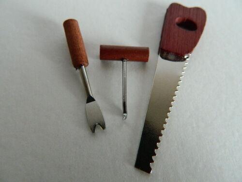 G2.25 échelle 1//12th Maison de Poupées ensemble de D I Y outils de jardinage