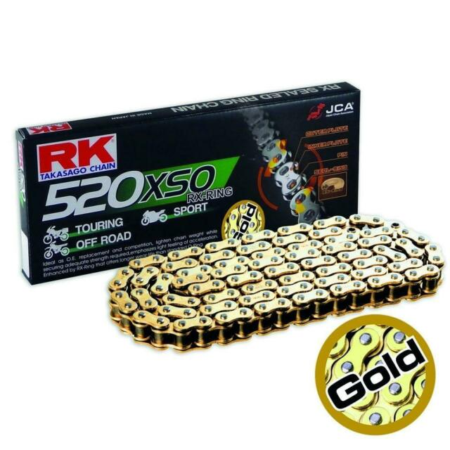 RK Racing Chain 520XSO-78 78-Links X-Ring Chain with Connecting Link