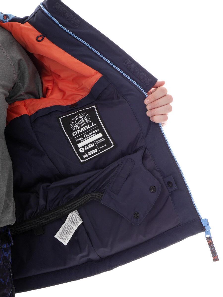 O 'Neill Giacca Giacca Sci Snowboard Giacca 'Neill Giacca Funzione JEWEL Blu resistente all'acqua 81eb8b