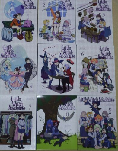 Little Witch Academia Blu-ray Disc vol.1-9 Complete Set 25 episodes