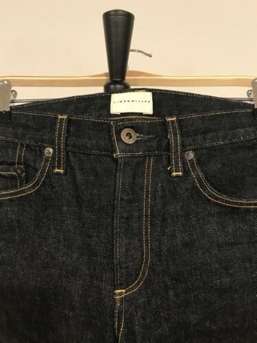 Raw Womens Miller Maat Leg Jeans Denim Simon Zuna Red Wide Line Blue 25 Selvedge 0O8kXnwP