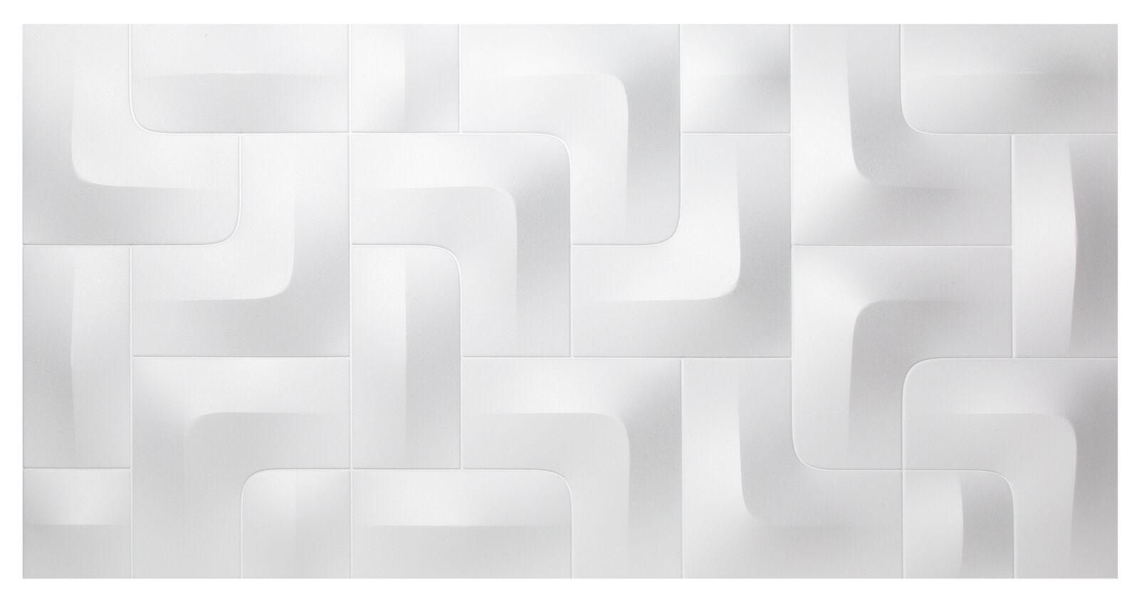 96 3D Paneele Wandplatten Wandverkleidung formfest Sparpaket Marbet 96x48cm PD-1