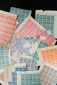 South-America-Hoard-of-Over-1700-NH-High-Value-Stamps