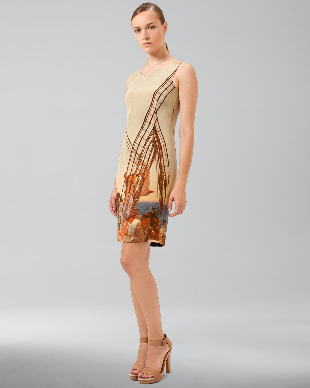 New  NWT AKRIS Silk Dress 34 (USA 4) Luxury  Stunning
