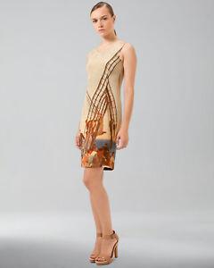 New-2990-NWT-AKRIS-Silk-Dress-36-USA-6-Luxury-Stunning